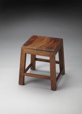 Fascinating Styled Hewett Solid Wood Stool by Butler Specialty