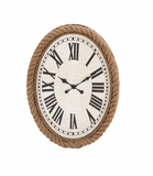 Fascinating Styled Wood Rowall clock by Woodland Import