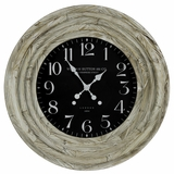 Fascinating White Washed Classy Mayflower Clock by Cooper Classics