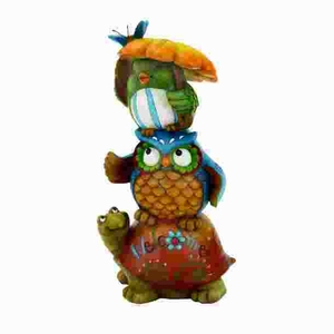 Fiber Glass Animal Showpiece in Smooth and Luster Finish Brand Woodland