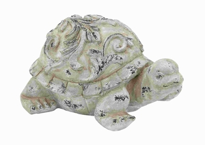 Fiber Glass Garden Turtle with Simple Elegantly Crafted Design Brand Woodland