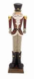 "Fiberstone General Santa 8""W, 34""H by Woodland Import"