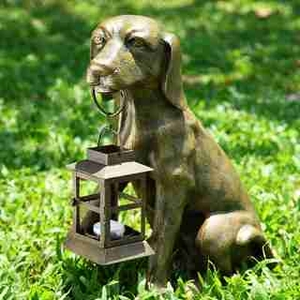 Fido Holding Lantern (Dog) Discounted Decorative Light Brand SPI-HOME