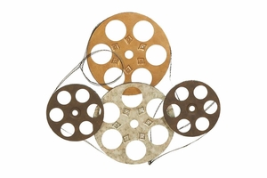 Film Reels Metal Wall Decor 25 Inch Width, 22 Inch Height Brand Woodland