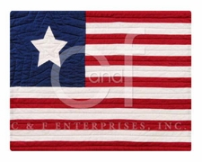 Flag Placemat, 13 Inch X 19 Inch, American Flag Dining Placemat Brand C&F