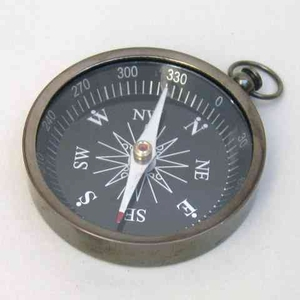 Flat Compass Must To Possess Beautiful Navigational Instrument Brand IOTC