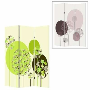 Floral Buds Screen with Attractive Image Print on Canvas Brand Screen Gem