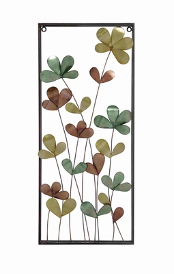 Floral Exclusive Metal Wall D�cor Brand Benzara
