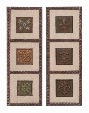 Floral Multi-Frame - Greek Inspired Rustic Multi-Frame - Set of 2 Brand Woodland