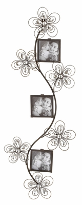 Floral Photo Frame - Beautiful Floral Theme for Memories on the Wall Brand Woodland