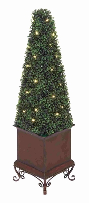 Florence Charismatic LED Boxwood Creation Brand Benzara