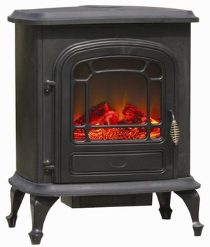 Florence Electric Fireplace Stove, Powerful And Spectacular Unit by Well Travel Living