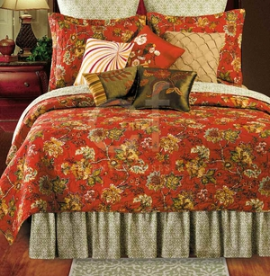 Florentine Twin Quilt with 100% Cotton and Cotton Fill Brand C&F