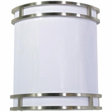 Fluorescent Lighting Classy Styled 1 Lights Decorative in Brush Nickel Finish by Yosemite Home Decor