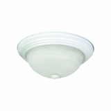 Flush Mount Lighting Series Alluring 2 Lights Flush Mount in White by Yosemite Home Decor