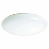 Flush Mount Lighting Series Contemporary Styled 1 Light Flush Mount in White Glass by Yosemite Home Decor