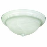 Flush Mount Lighting Series Dazzling 3 Light in White by Yosemite Home Decor