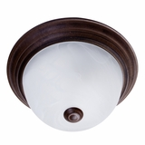 Flush Mount Lighting Series Fascinatingly Styled 1 Lights Flush Mount in Dark Brown by Yosemite Home Decor