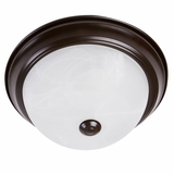 Flush Mount Lighting Series Stunning 2 Lights Flush Mount series in Oil Rubbed Bronze by Yosemite Home Decor
