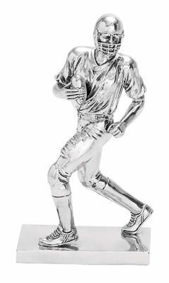 Football Statue Polystone Sculpture of a Football Player Brand Woodland