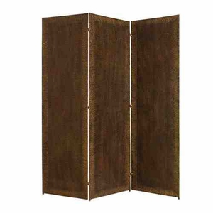 Forger Screen, Metal 3 Panel Screen, 65 Inch L x 72 Inch H Brand Screen Gems