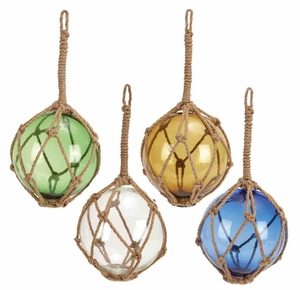 Four Glass Float Ropes in Multi-colours with Fascinating Design Brand Woodland