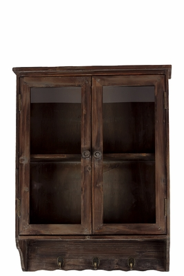 Four Sectioned Derby's Pleasant Wooden Cabinet