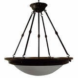 Foyer Pendant Series Marvelous 5 Lights Pendant Lighting in Brown by Yosemite Home Decor