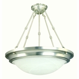 Foyer Pendant Series Outstandingly Styled 5 Lights Pendant Lighting in Satin Nickel Finish by Yosemite Home Decor