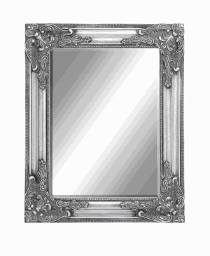 Framed Beveled Mirror with Charming Moldings along the Frame Brand Woodland