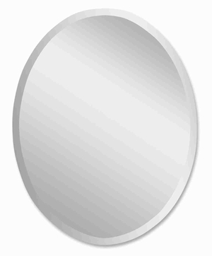 Frameless Vanity Wall Mirror with a Polished Smooth Finish Brand Uttermost