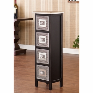 Franklin 4-Drawer Storage Tower by Southern Enterprises
