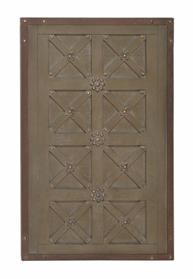 French Inspired Wall Decor with Dramatic Cross Recesses Brand Woodland
