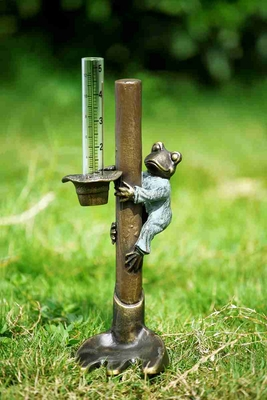 Frog Gardener Rain Gauge With Easy To Read Calibration Brand SPI-HOME