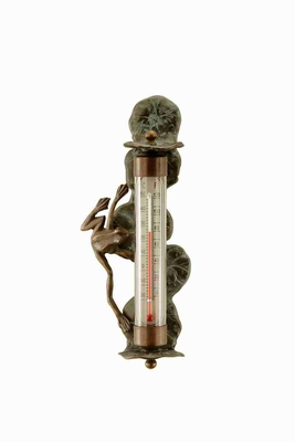 Frog Wall Mounted Thermometer To Keep Track Of Time Brand SPI-HOME