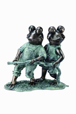 Frogs With Hose Garden Spitter With Unique Garden Decor Concept Brand SPI-HOME