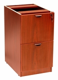 Full Pedestal File/File, Cherry by Boss Chair