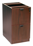 Full Pedestal File/File, Mahogany by Boss Chair
