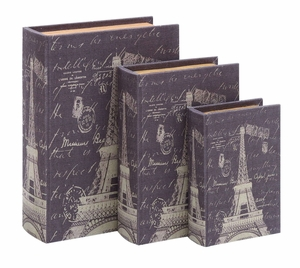 Fun And Clever Paris Lifestyle Themed Book Box Set Brand Woodland