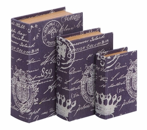 Fun And Clever Paris Postcard Themed Book Box Set Brand Woodland