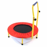 Fun and Fitness for kids - Trampoline in Steel tube, plastic components by Redmon
