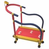 Fun and Fitness for kids - Treadmill in Steel tube, plastic components by Redmon