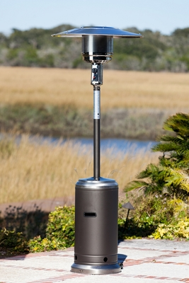 Gallarate Patio Heater, Aesthetic And Strong Outdoor Home Decor by Well Travel Living