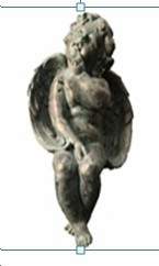 Garden Decor _ Sitting Angel Inspired Garden Statue Brand Domani