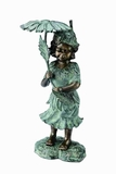 Garden Girl Garden Spitter Best Among Available Garden Decor Options Brand SPI-HOME