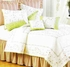 Garden Trellis Embroidered Cotton Quilt Luxury Twin  Bedding Ensembles Brand C&F