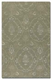 """Geneva Laurel Green 16"""" Rug with Silver Details and Taupe Accents Brand Uttermost"""