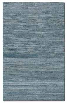 "Genoa 16"" Rug Constructed in Rescued Denim and Undyed Wool Brand Uttermost"