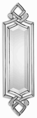 Ginosa Bevel Wall Mirror with Hand Beveled Mirror Edges Brand Uttermost