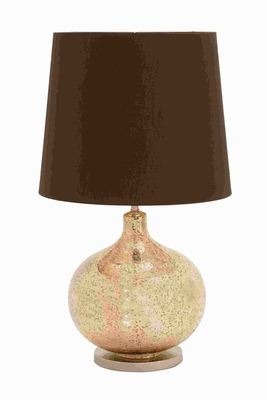 Glass Metal Table Lamp with Classic Styling and Modern Detailing Brand Woodland